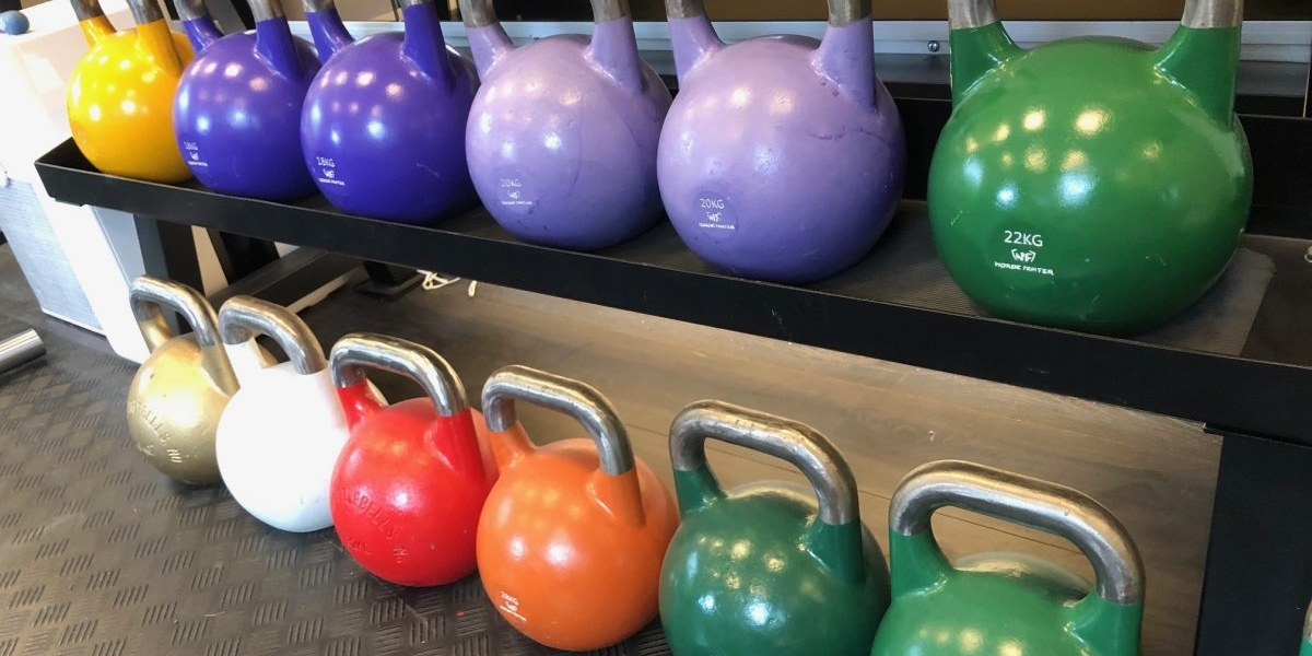 Competition Kettlebell 22kg GymBroker NF Green