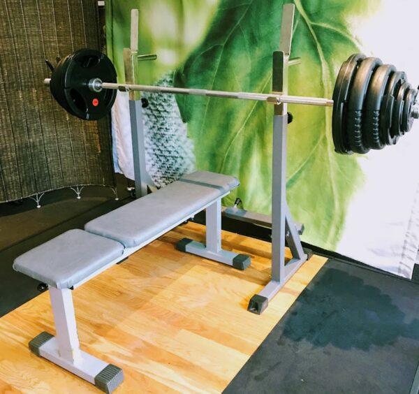 Skivstång & vikter i hög gymkvalitet.